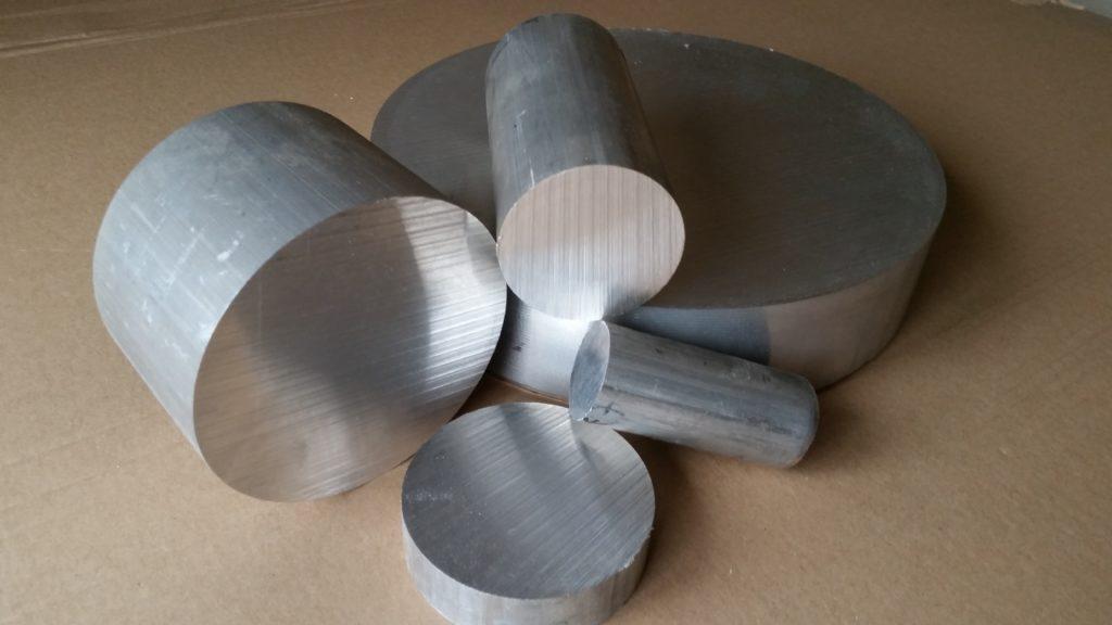Wałki aluminiowe wyciskane